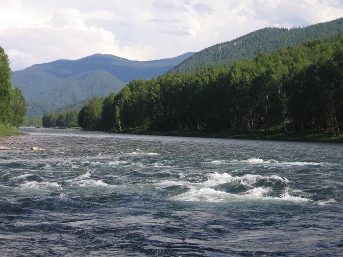Западный Алтай и его реки