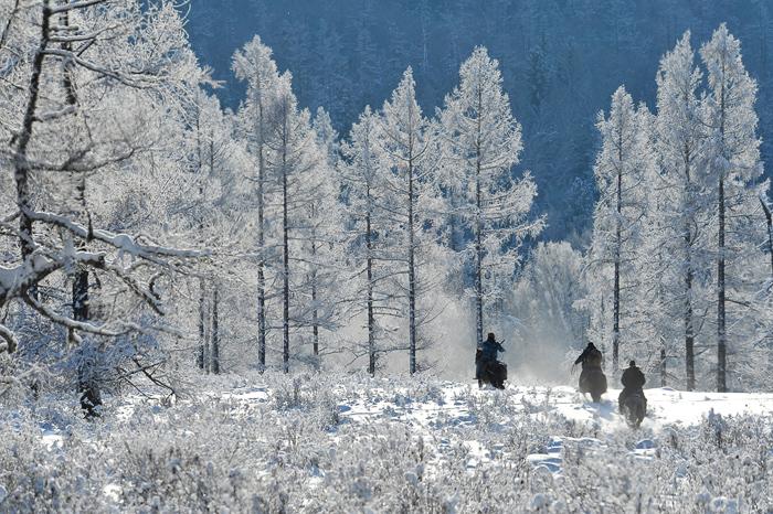 Охотники на конях