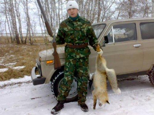 открытие охоты зима 2009г.