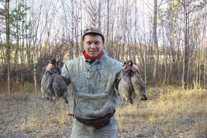 открытие на боровую, томская область, первые 3 минуты охоты.