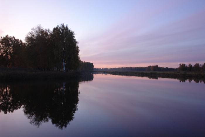 Родное озеро...