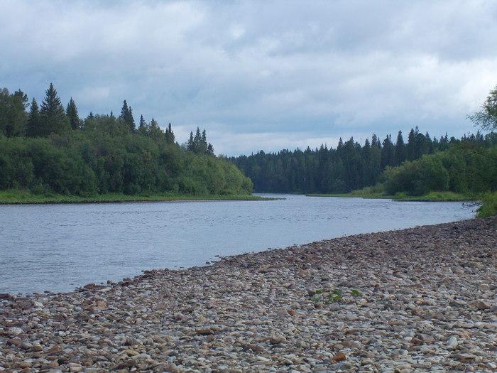 Пермский край река  Вишера