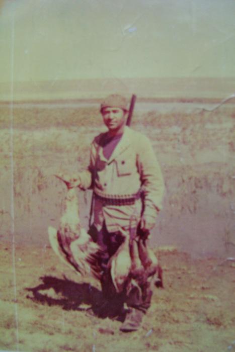 Мой родной д.Боря,на оз.Зайсан 1974г.