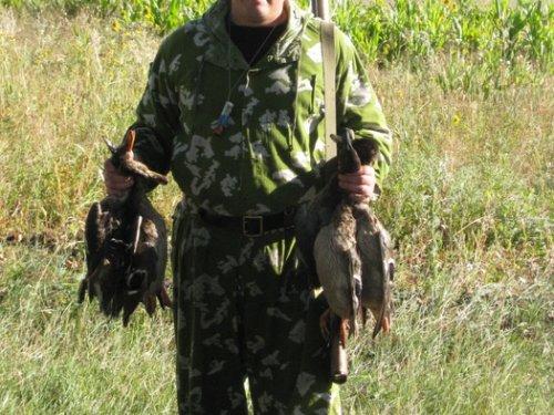 Открытие охоты. осень 2010.