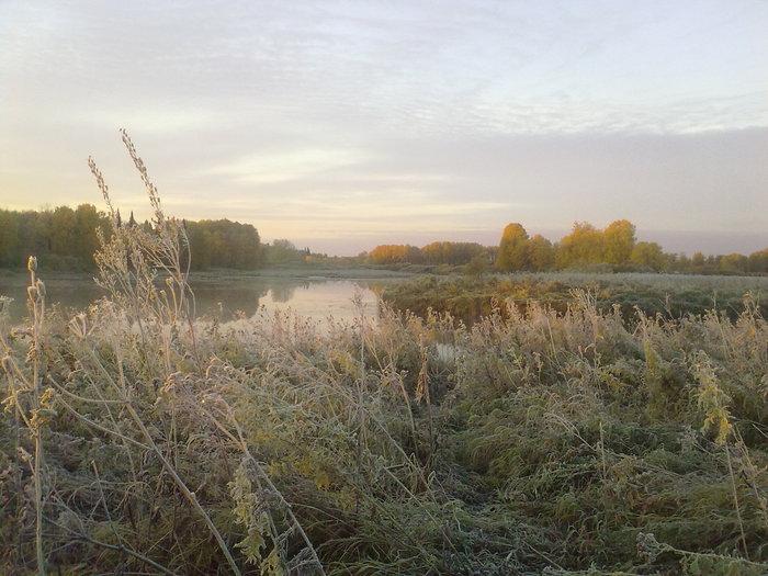 Утро на озере 2