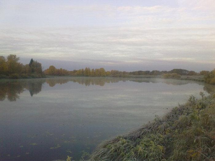 Утро на озере 25.09.10