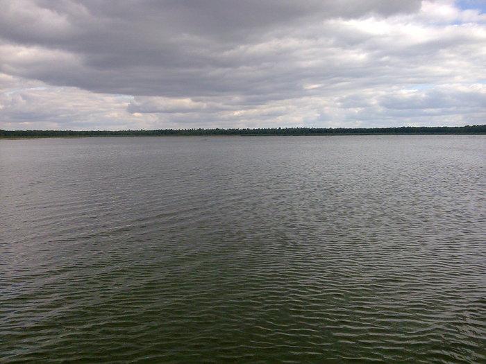 просторы Мензелинского озера