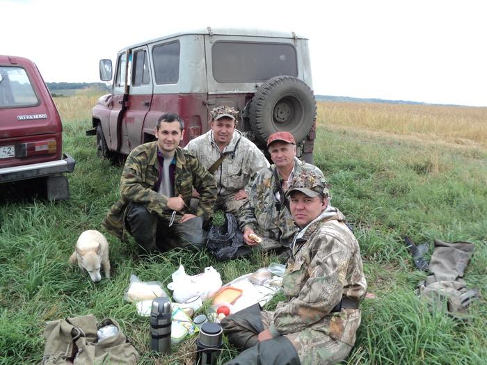 я с друзьями на охоте