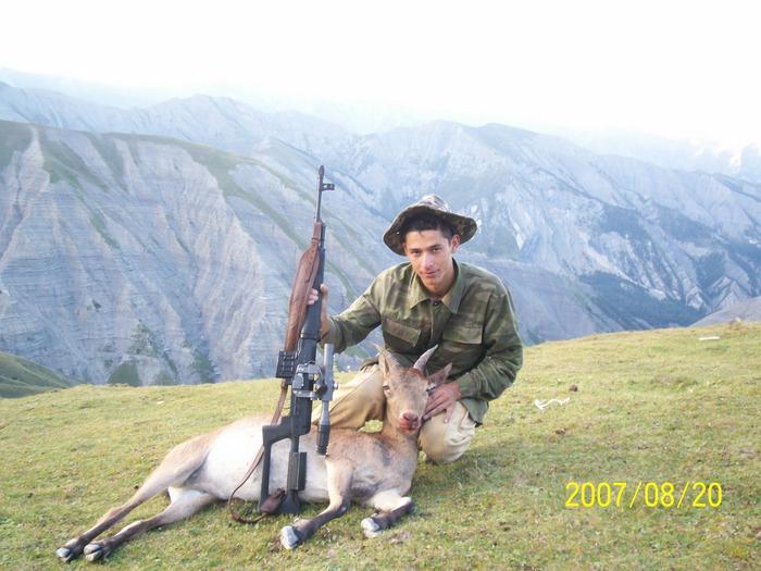 Oxota v Azerbaycane mladsi brat