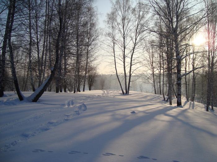 Январское утро.