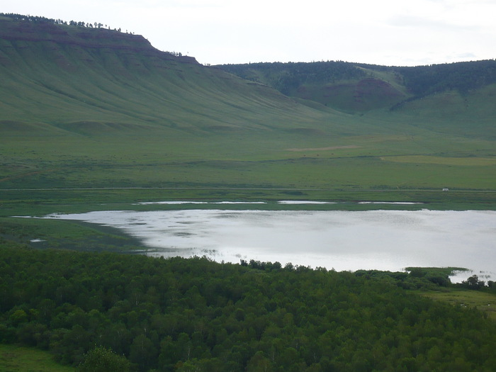 устье оз. Малое, Красноярский край