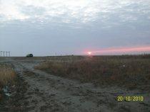 рассвет на речке верх-урюм