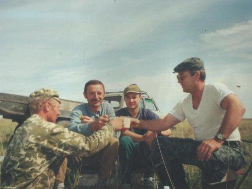 Открытие охоты с друзьями