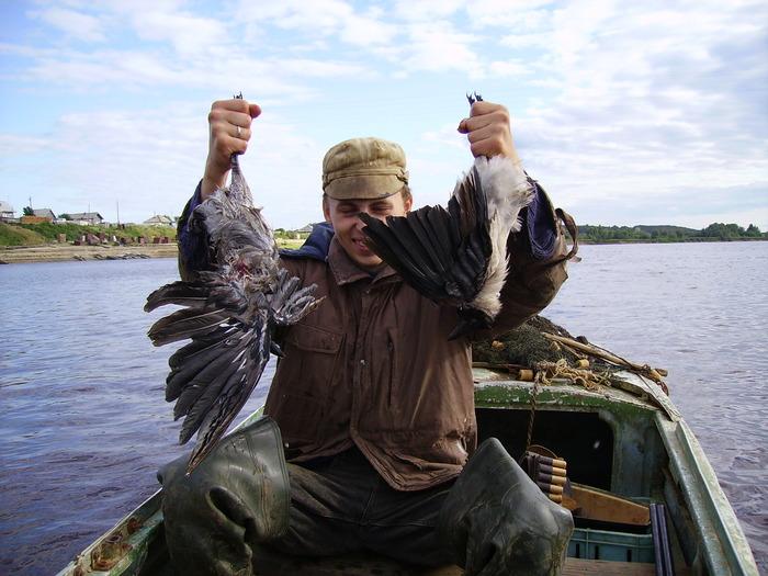 Не всякая ворона долетит до середины р.Кеть.
