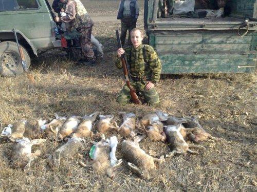 Открытие сезона на зайца 2010