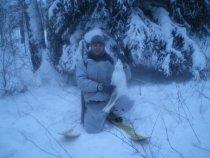 Уже на лыжах