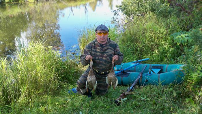 1 день охоты .август 2009.