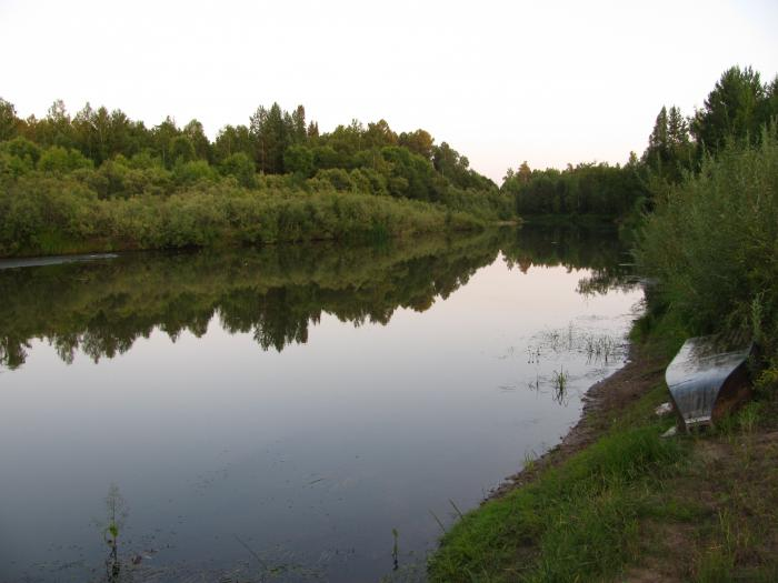 Река Кемь. Красноярский край.