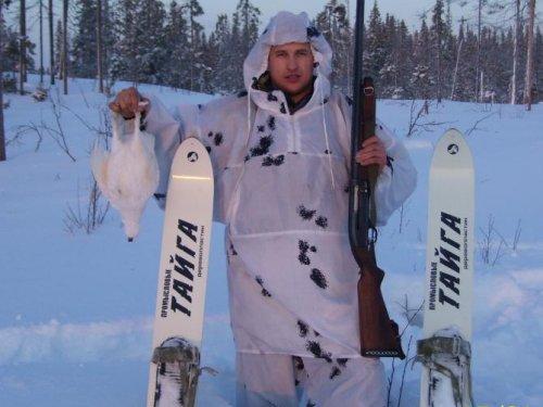 Лыжи обновили и курицу добыли