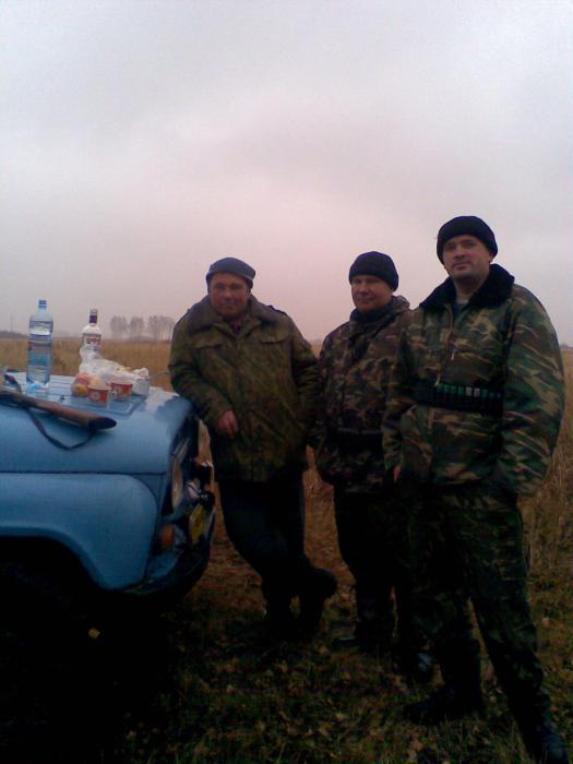 вот такое выдалось зимнее открытие охоты 2010г. в Тюменцево