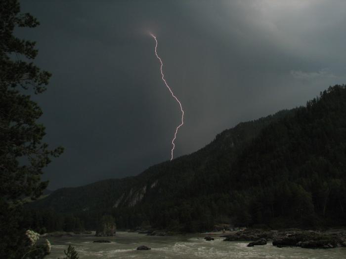 молния Семинский порог