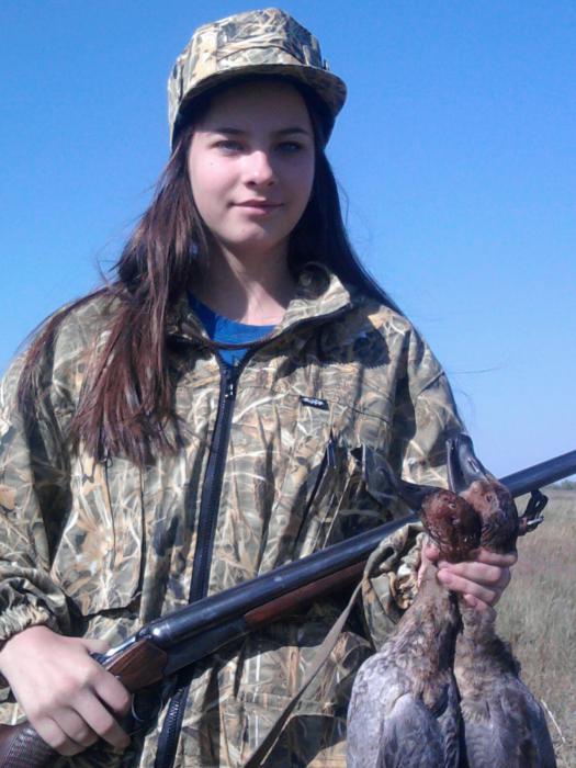 юная охотница Даша