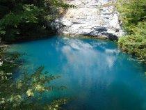 Голубое озеро . Абхазия.