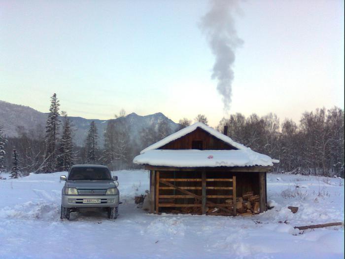Зимовье на р.Кокса