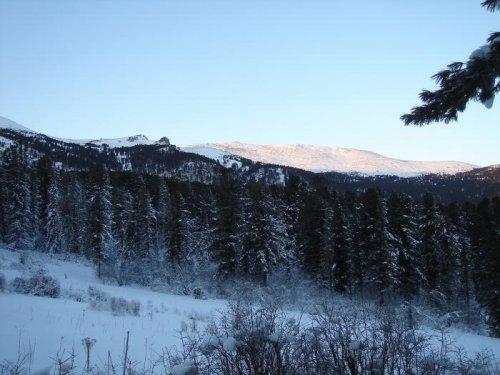 Сумультинский хребет.Горный Алтай.
