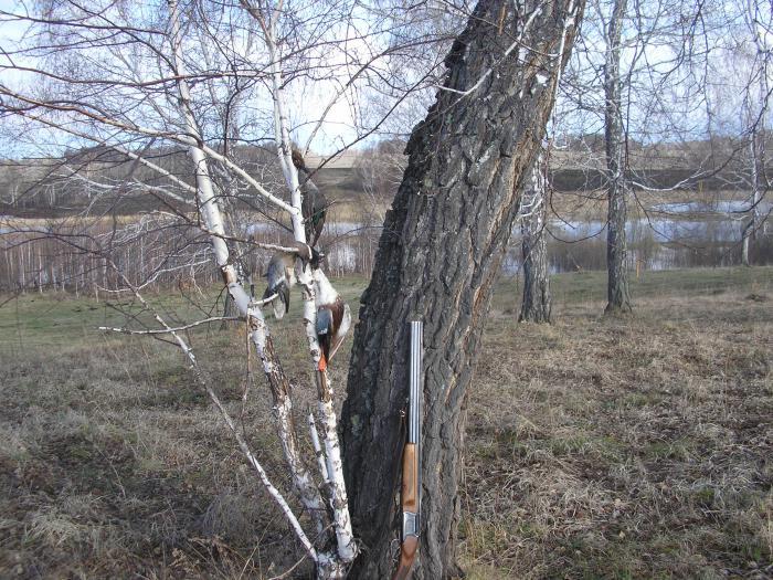 Закрытие весенней охоты 2011г.