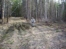 Дорога на суходолы, на машине не проехать, до места охоты на утей 2 км пешком.
