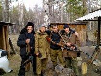 На охоте с друзьями