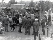 Выставка охотничьих трофеев в Змеиногорском районе  Алтайского края 1986г