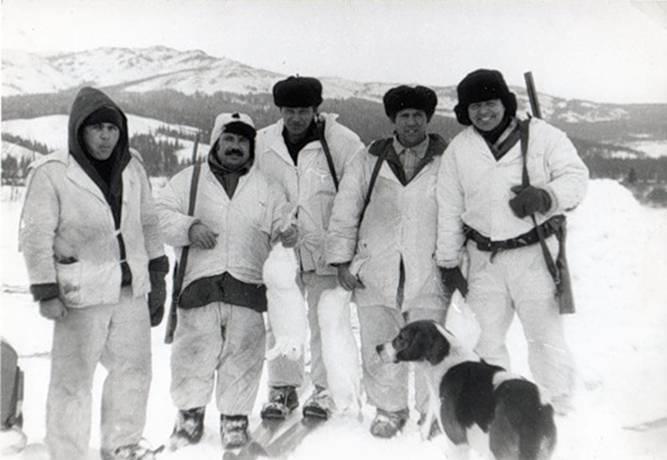 1987 год, коллективная охота