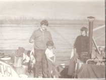 Год  1970-71....   На  Чулыме ....