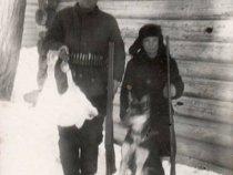 После первой охоты. Мне семь с половиной лет. 1963 год
