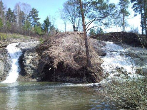 Водопады с.Глубокое Топкинский район
