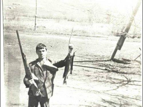 ...и так тоже охотились. И рыба не переводилась!