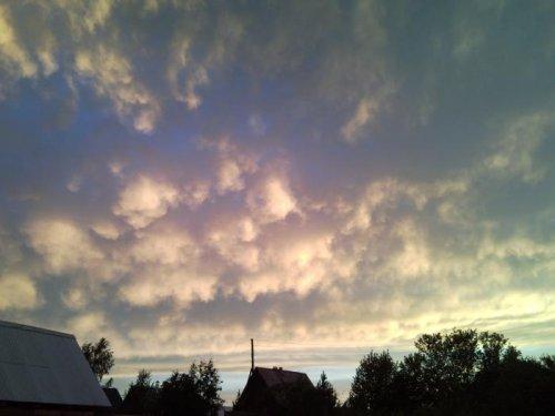 ЧуднЫе облака