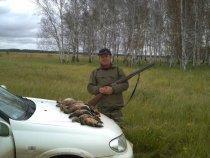 Открытие охоты в Каргатском районе.