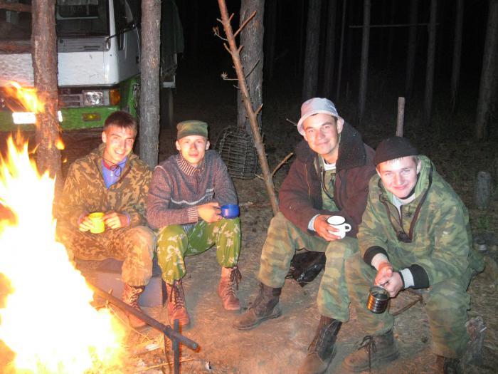 С друзьями на охоте