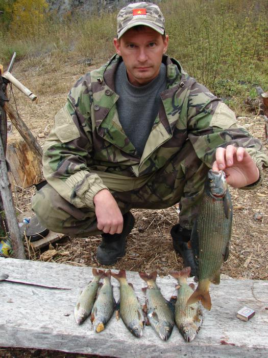 результат рыбалки.