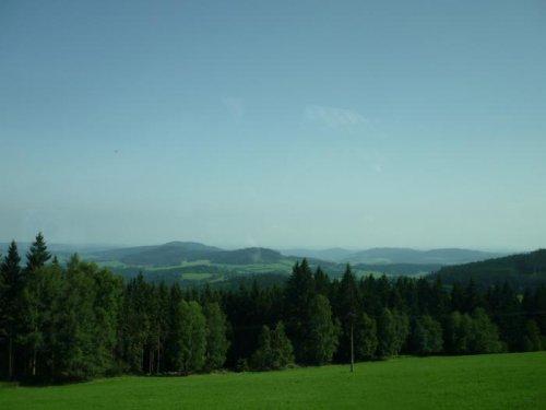 ...луга,леса и горы.
