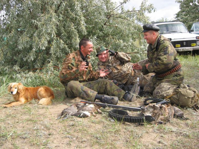 """""""Охотники на привале"""" 2011 год"""