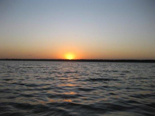 Закат на о.Куличье