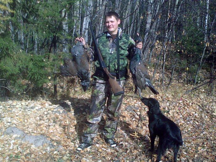 Люблю осеннюю охоту.