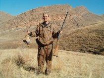 Охота в южном Казахстане. Кеклики.