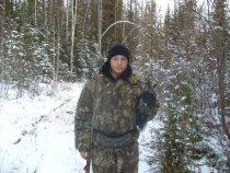 Первая добыча молодого охотника.