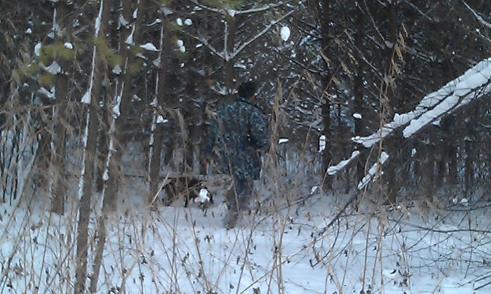 скаут & и.с.Вьюга - процесс охоты