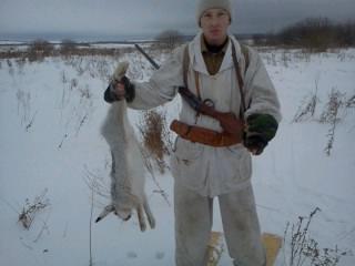 первый заяц в этом году 03.01.2012